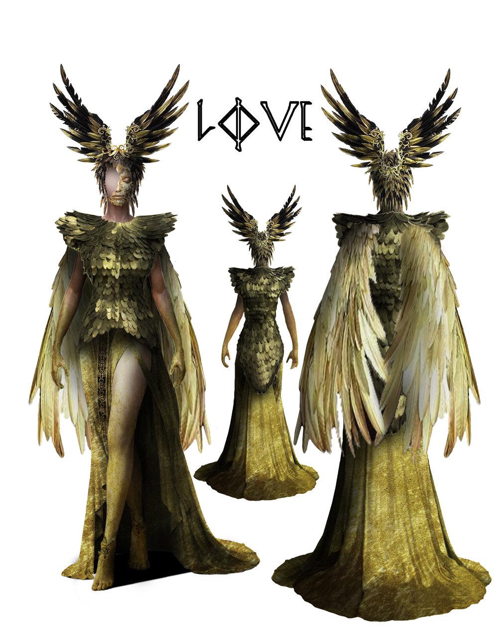 LOVE/FREYJA - Costume Design