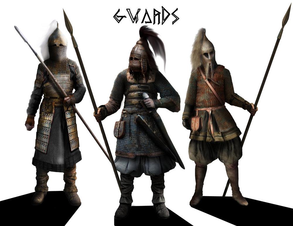 GUARDS - Costume Design