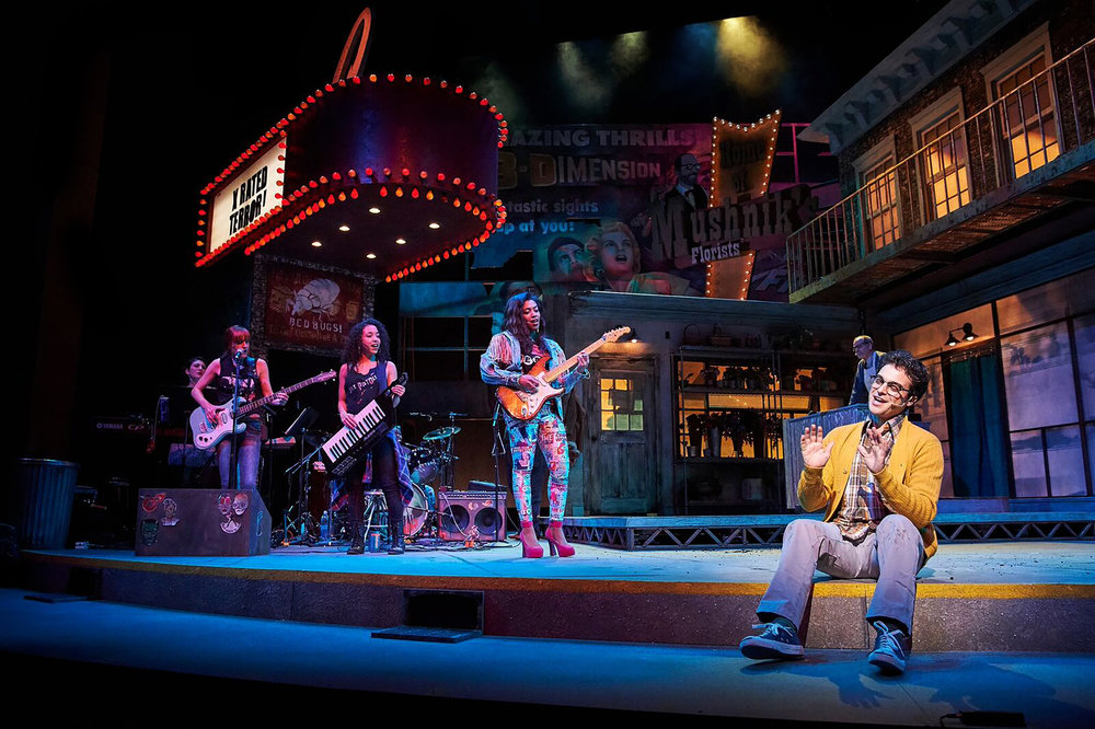LITTLE SHOP OF HORRORS - Cleveland Play House, Ohio USA