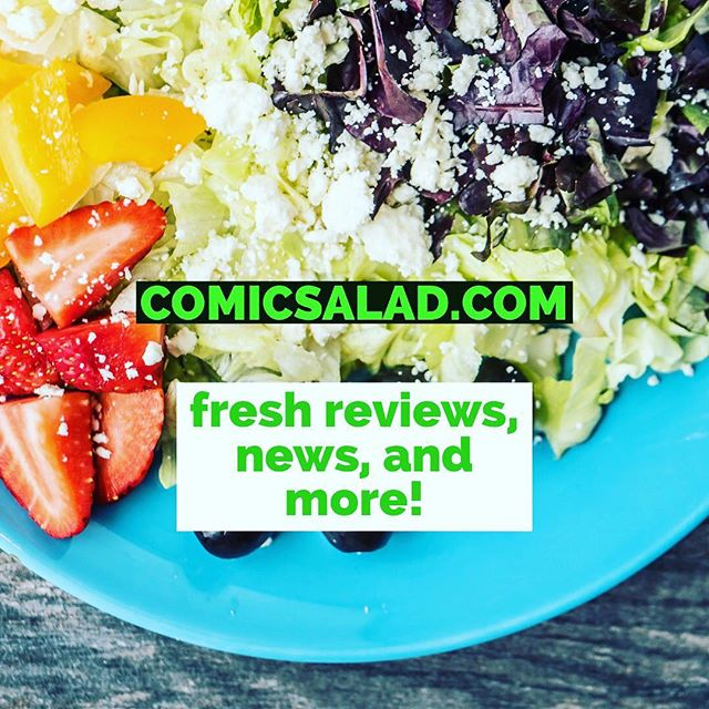 check us out on comic salad at our link above ⬆️ or in bio➡️ follow us for updates 🥗 🍴 . . . . . . #comicsofinstagram #marvelcomics #indiecomics #dccomics #webcomic #igcomicfamily #comic #comicsalad #comicreview