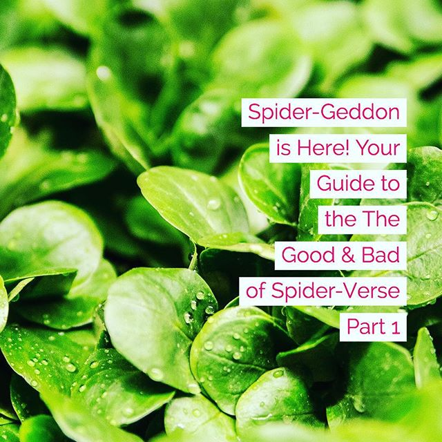 new post up on comic salad. we're going back a little & looking at edge of spider-verse before diving into spider-geddon 🥗 🥗🥗💚💚💚 like share read comment etc  link in bio 🌿🌿🌿 #comicsalad #spiderman #superiorspiderman #spidermannoir #otto #comicreview #comicguide #spidergeddon #edgeofspiderverse #spiderverse #marvelcomics
