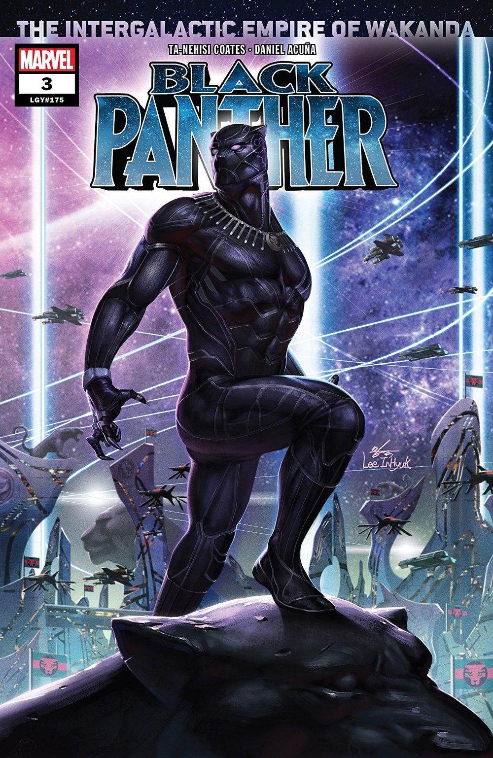 Black Panther #3 - Writer: Ta-Nehisi CoatesArtist: Daniel AcuñaLetterer: VC's Joe SabinoCover artist: Inhyuk Lee