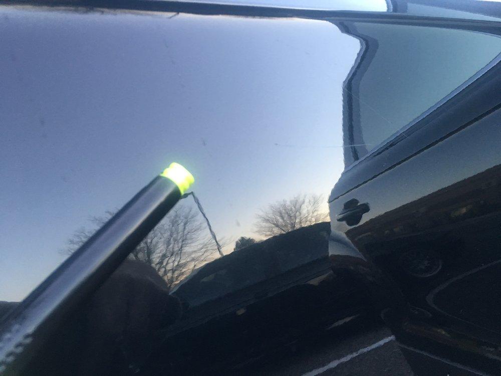 Driver's door - light scratch