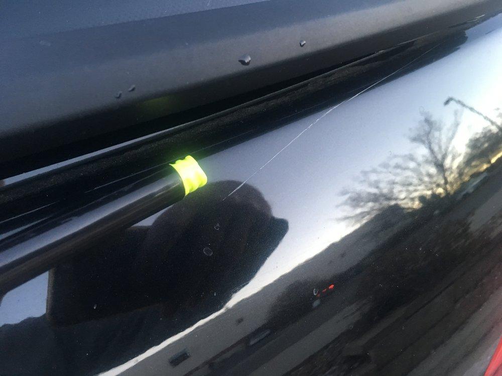 Tailgate - light scratch