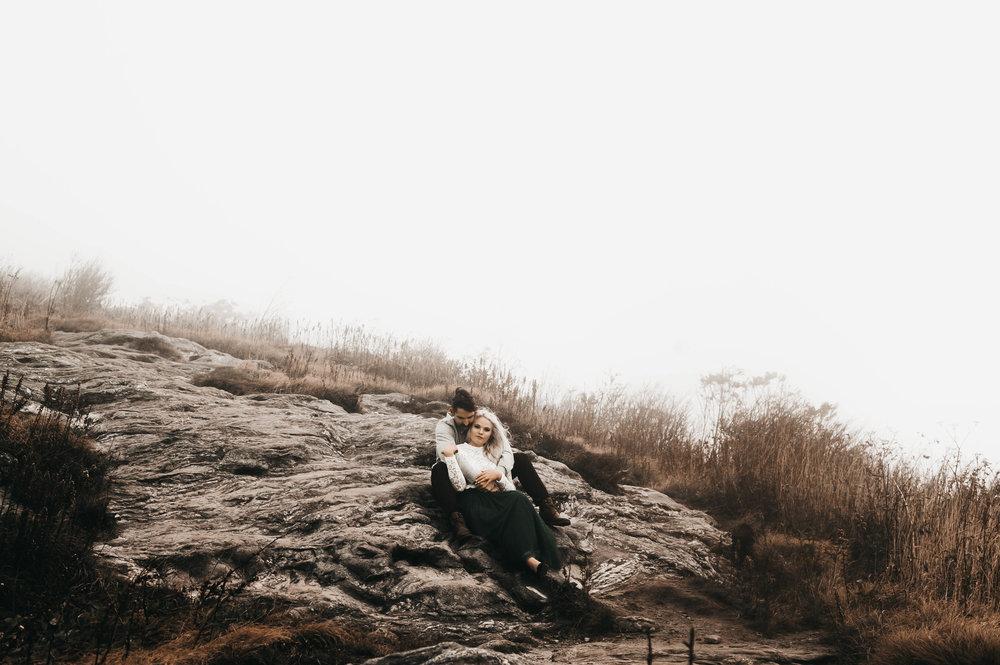 Makenzie Lauren Photography | Tasha & Adam Engagement Session | Black Balsam Knob009.jpg