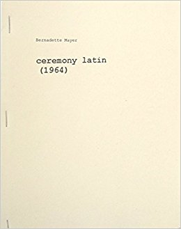 Ceremony Latin (1964).  Angel Hair, 1975.