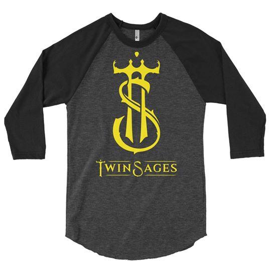Twin Sages 3/4 sleeve raglan shirt
