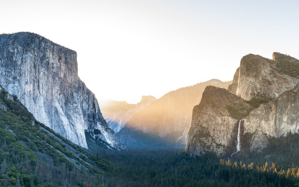 Classic Sunrise at Tunnel View