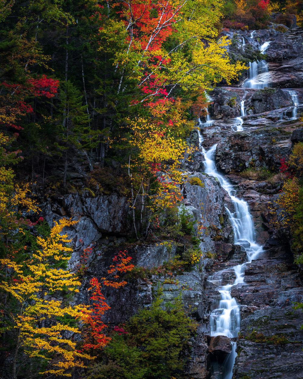 Fall foliage at Silver Cascade