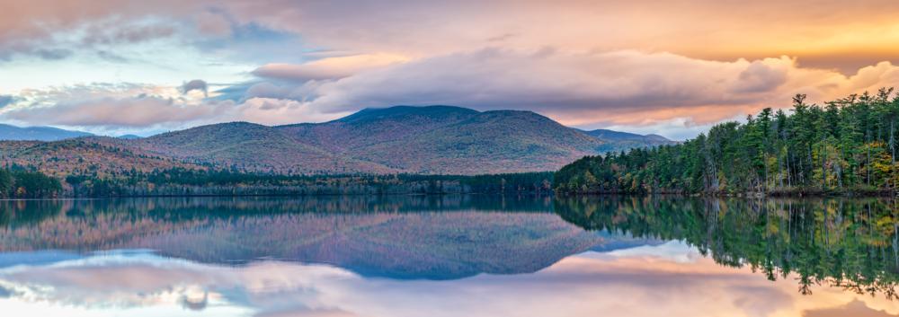 Sunrise Reflection at Chocorua Lake