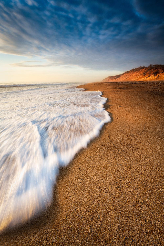 Moody Sunrise at Coast Guard Beach