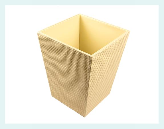 waste baskets -