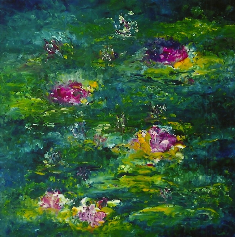 The Water Lillies #7 (sold)