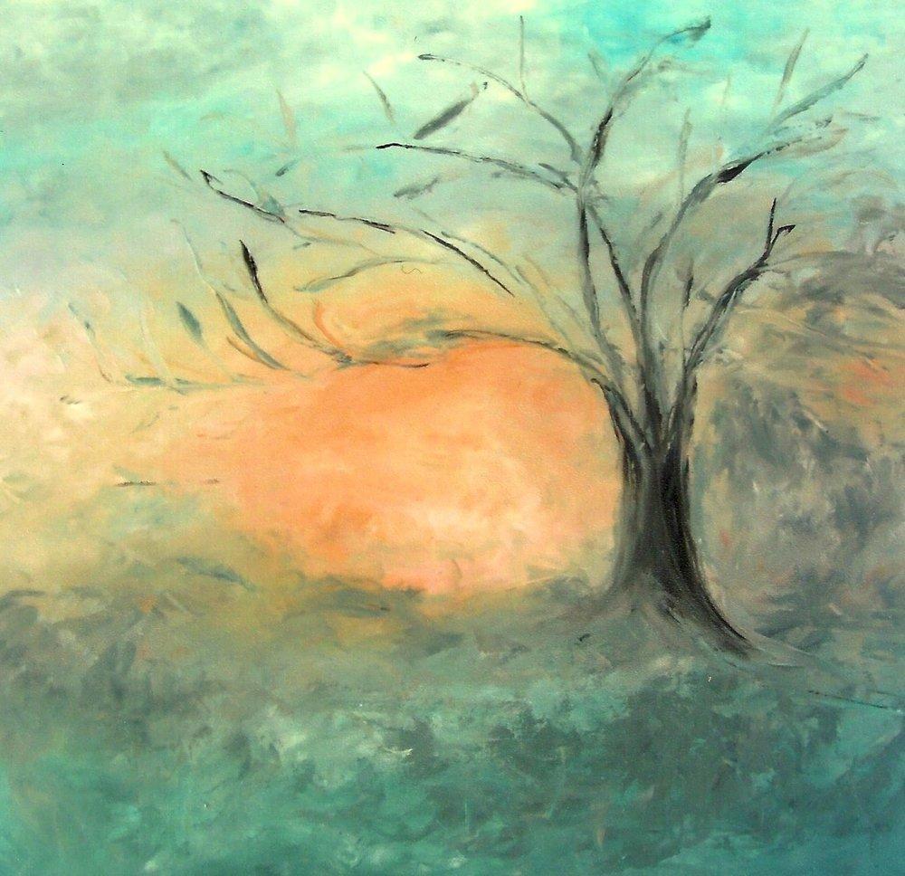 The Oak Tree In Winter (sold)