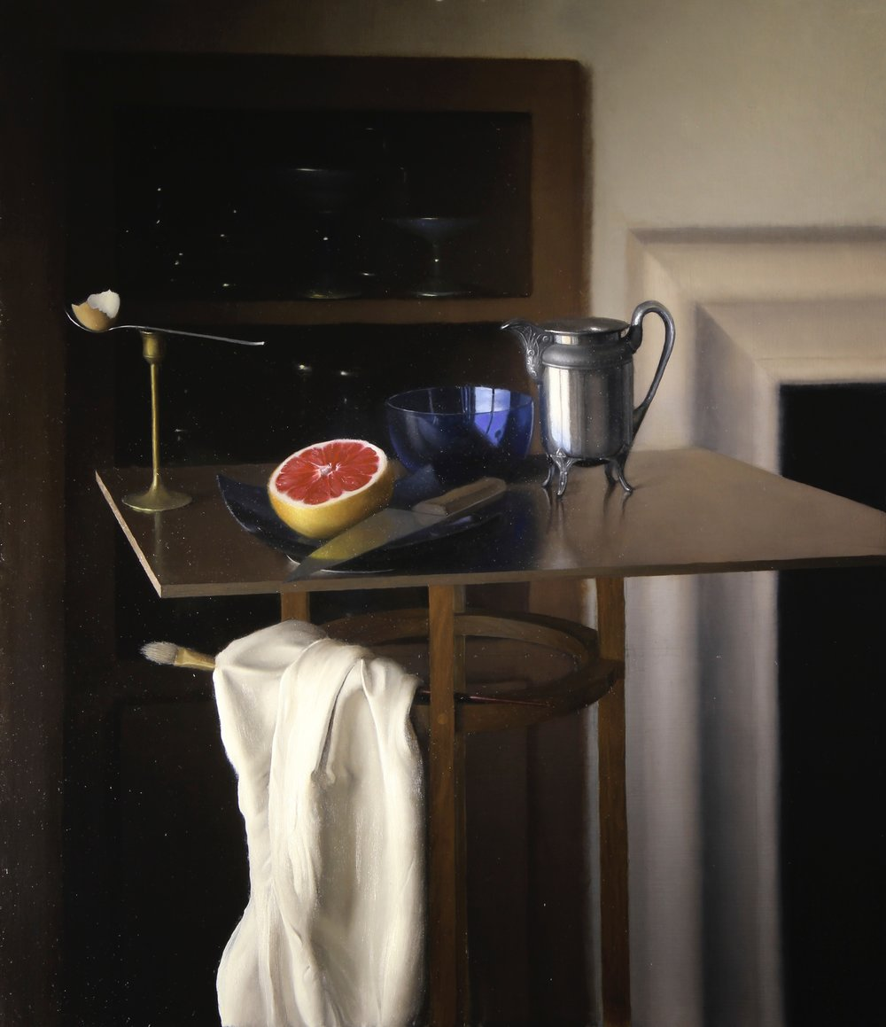 """The Grapefruit""    26x30, Oil on Panel    $3700"