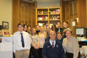 Judge Plese Welcomes East Valley High School Law Students to Superior Court