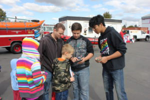 Central Valley Students visit SVFD
