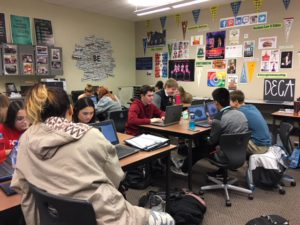 West Valley High School DECA Use Personal Finance Computer Simulation