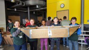Centennial Middle School's TSA Leadership Team travels Fall Leadership Training