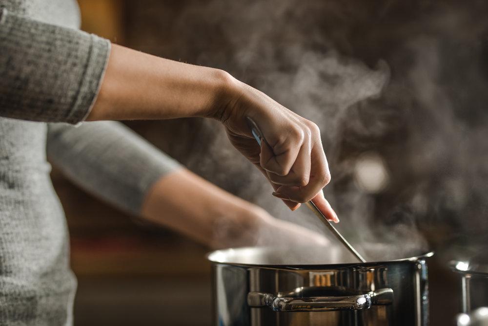 Cooking Recipe Pot