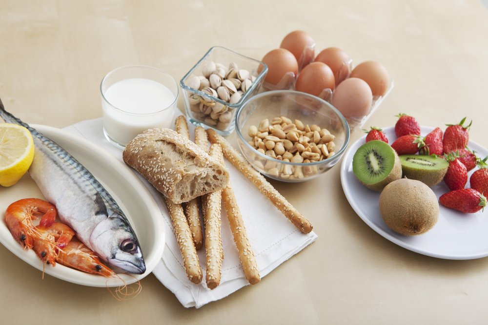 Top Food Allergens  Milk, Egg, Peanut, Tree Nuts, Fish, Shellfish, Wheat, and Soy