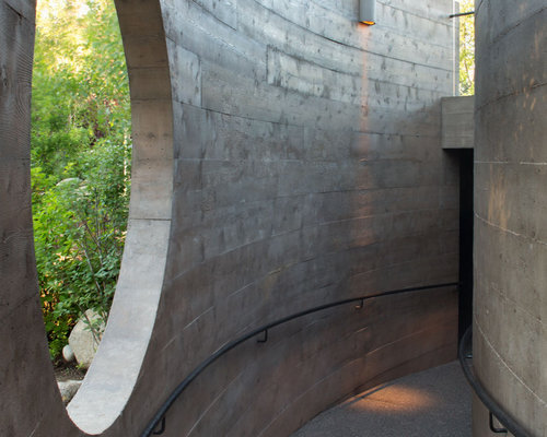 True Nature Healing Arts Debuts a Stunning Kiva - ASPEN SOJOURNER article by Allison PattilloThe new structure artfully melds with its surroundings to offer a unique wellness experience. (Photo by Brent Moss)