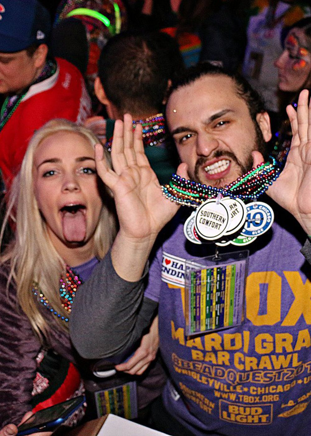 TBOX has become the biggest bar crawl in Chicago. -