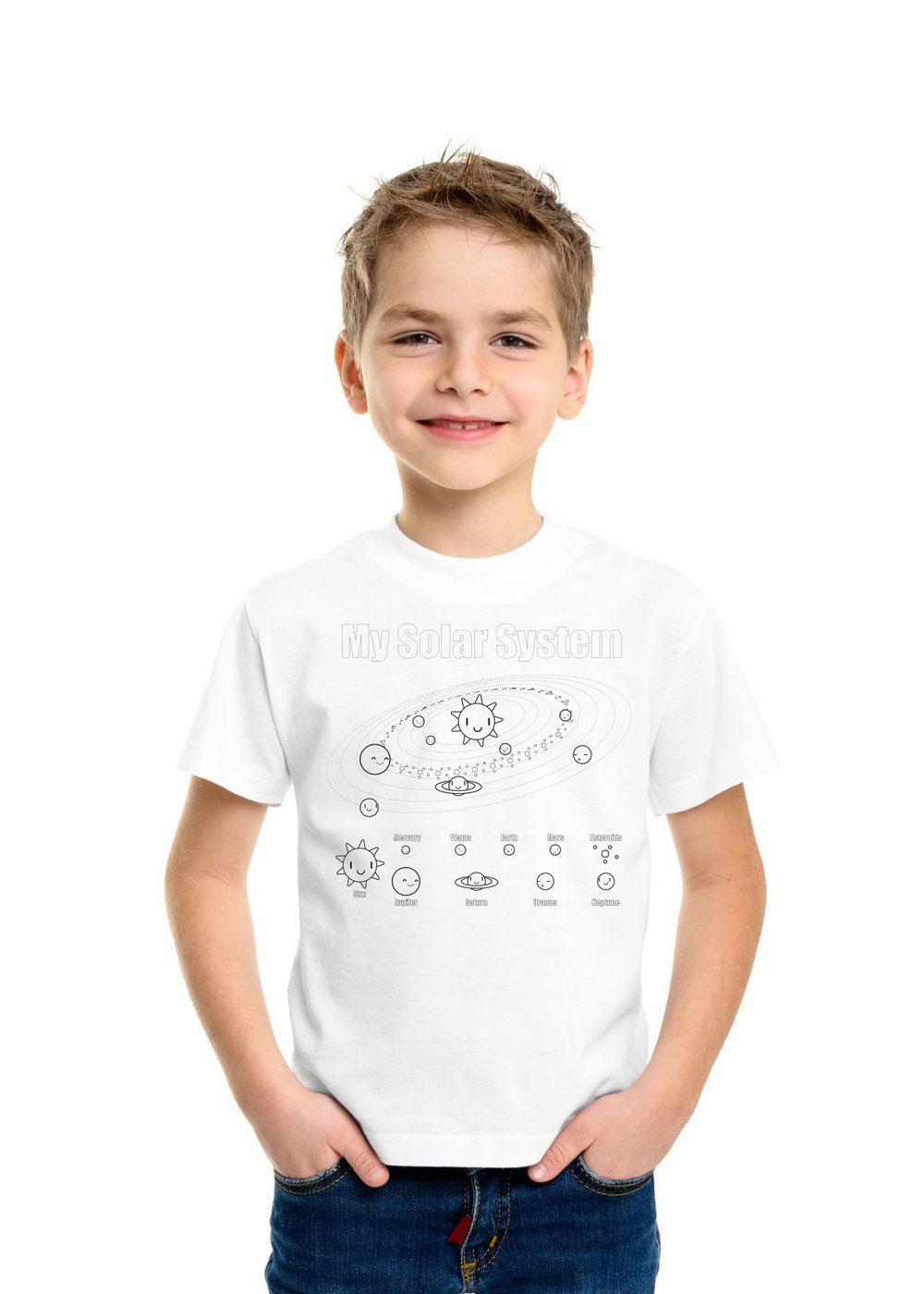 Why do we love to watch our kids learn and be creative?Because they enjoy it too! - Teetle tees are a wearable coloring page.We create a custom design to help kids learn.Let us know the theme of your activity and we'll create a custom design to help kids learn.Once that's ready we'll set up online ordering. Everyone in your group can get the size they need.The last, and most important part, have fun! We'll send the tee and enough markers for everyone.