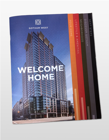 Collateral Design - Maiden+John's in-house design team can help create compelling marketing materials for your sales or leasing office.