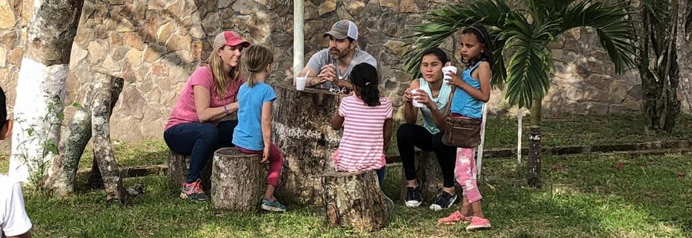 Serving the children of a coffee harvesting family