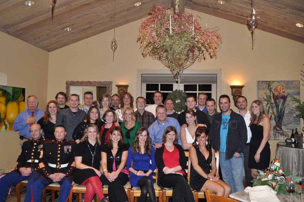 - Michael R. Bell & Company holiday party and employee drive to benefit Toys-for-Tots.