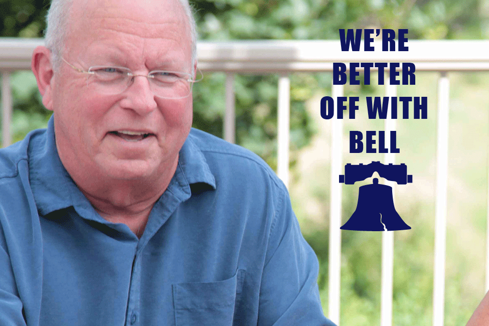 "MIKE BELL FOR STATE REPRESENTATIVE - Big corporations are better off. Why aren't you?  Read my pledge.They have bought career-politicians with millions in campaign donations. My opponent even uses corporate handouts for his cell-phone bill, DISH, and $300 meals. In return, our communities are among the poorest in our state. We deserve better representation.I don't need big corporate money to run my campaign. And, I'll donate my legislative salary to worthy causes throughout our district. I know our communities well. As a CPA and business-owner, I've worked with almost every healthcare system in our district for decades, helping to keep them open and caring for us.Over 45 years ago, I volunteered to serve America in the Navy. Now, I'm volunteering again because it's past time to remove the career-politicians whose judgement is clouded by big corporate money. In Olympia, we don't need a ""Wolf of Wall Street"", we need someone who knows who really pays the bills.We the People, (not we the corporations) can do better."