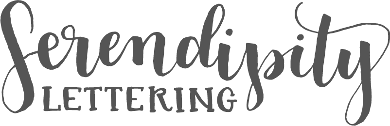 Serendipity Lettering