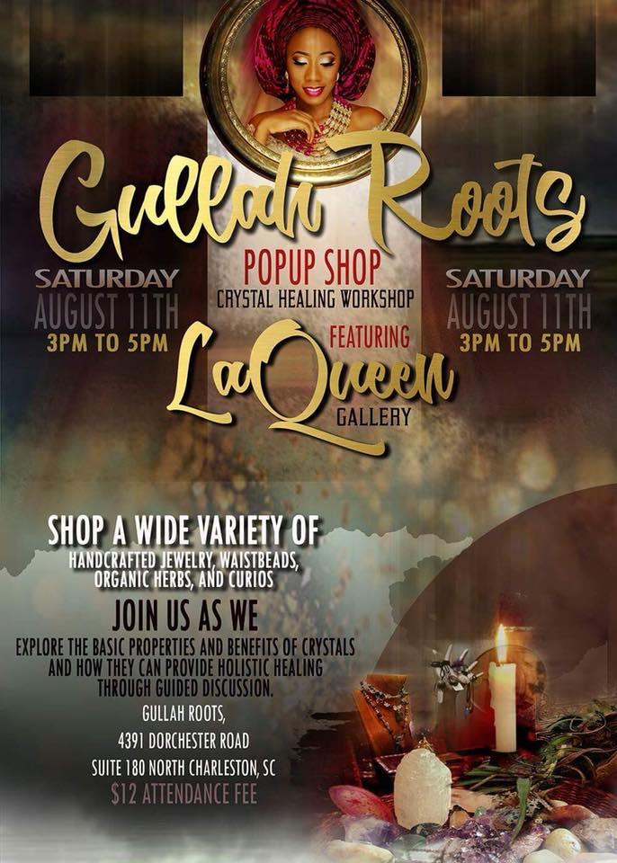 Gullah Roots Pop Up Shop: