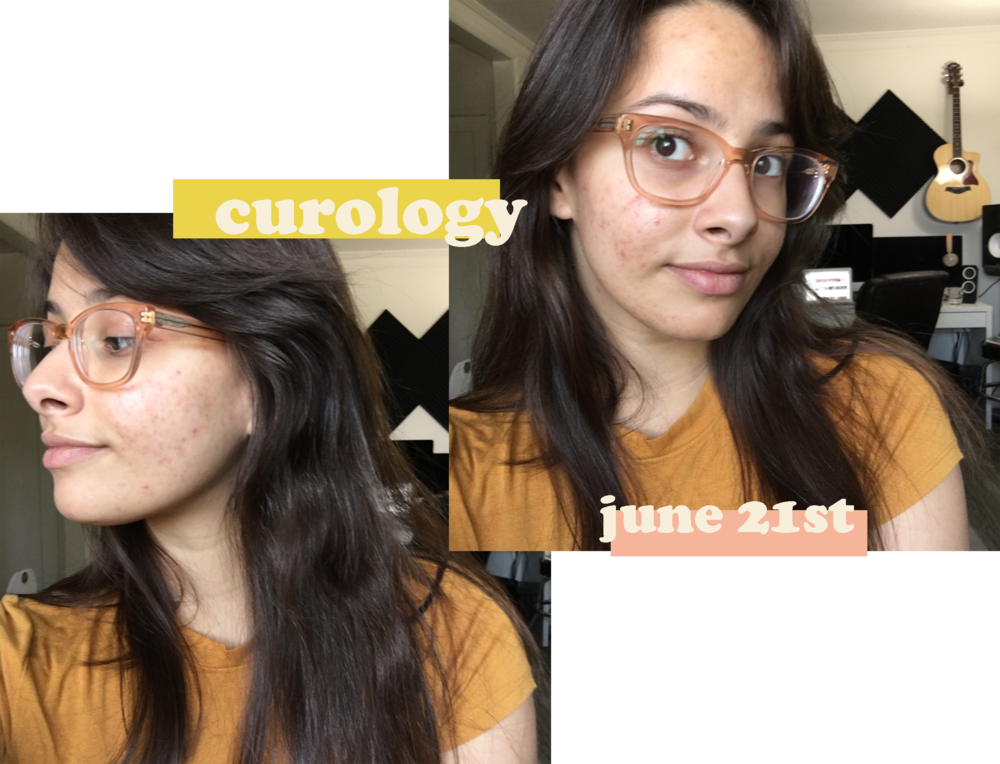 ariane long curology 1 month results.png