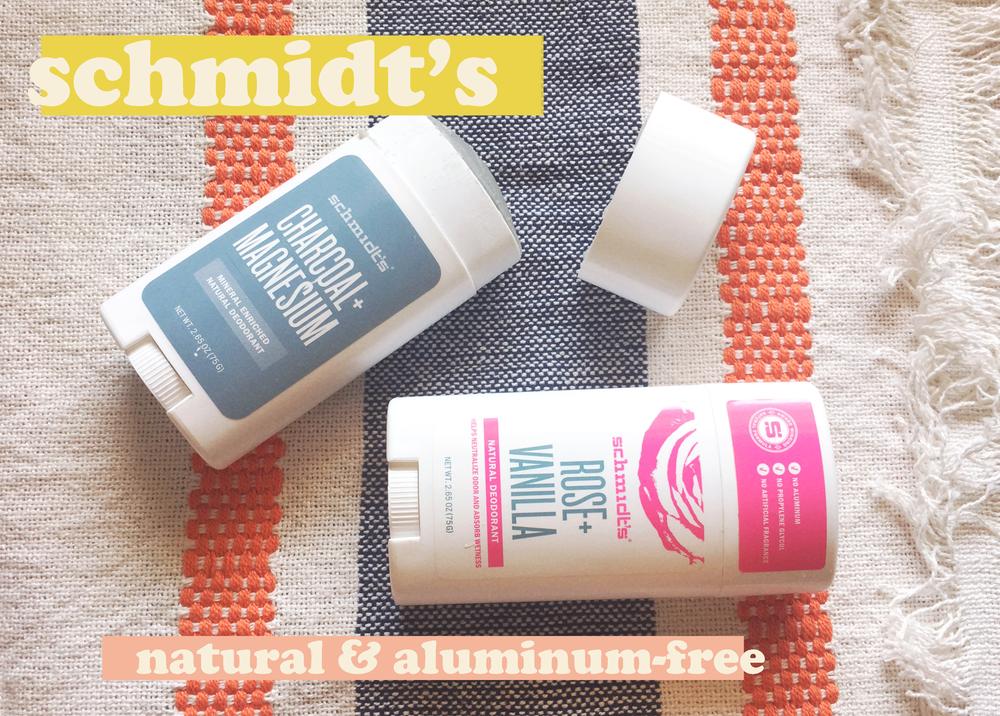 Schmidt's Natural Deodorant Flat Lay Product