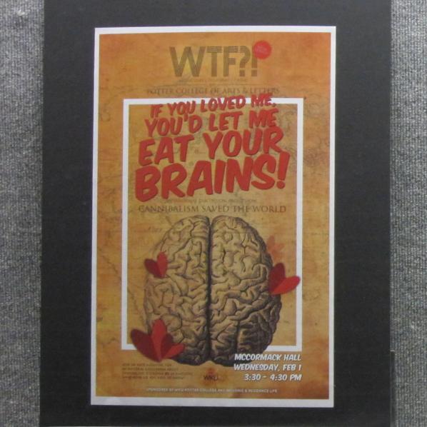 WTF Poster & presentation series exhibition - Spring 2012