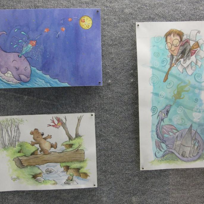 Illustrations Exhibition - September 13 - October 12, 2012