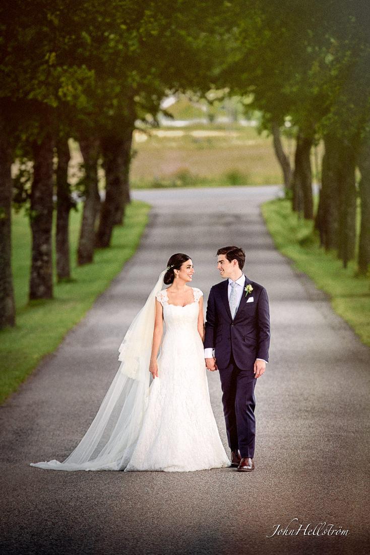 Wedding-walk-trees-reception