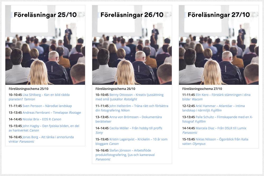 Nikon fotografen John Hellström föreläser för Scandinavian Photo