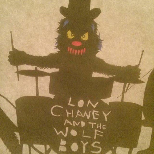 My werewolf band #shadowpuppetry #shadowpuppets #werewolf #werewolfband