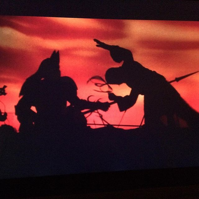 I love these silhouettes from Bram Stoker's Dracula