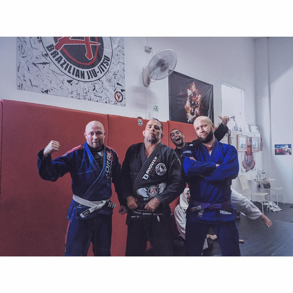 Po treningu z Olavo