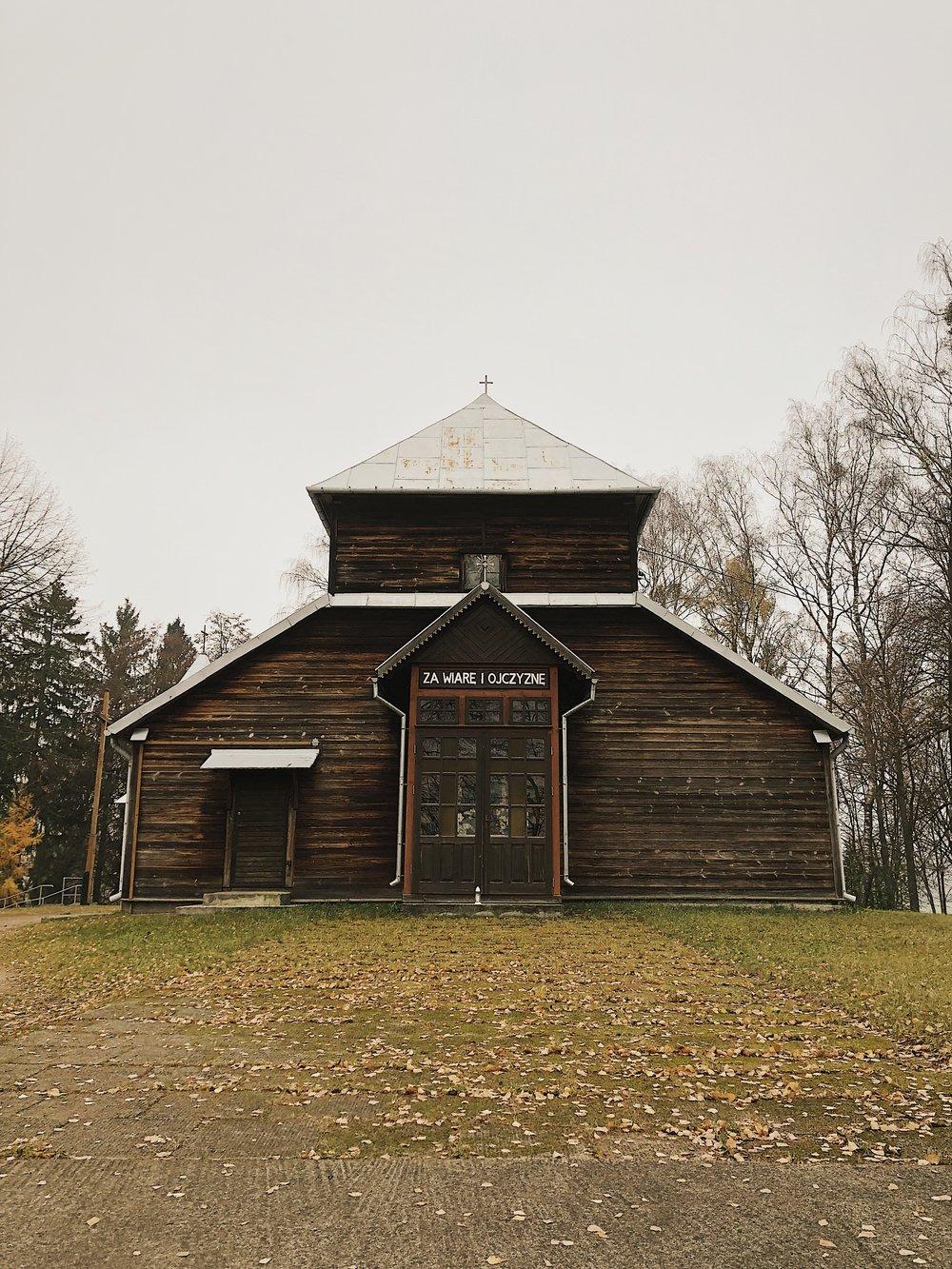 Kościół przed którym doznałem olśnienia.
