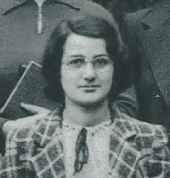 18-year-old Cicely Popplewell in 1939, courtesy of Girton College Cambridge. (c) Archives Lafayette.