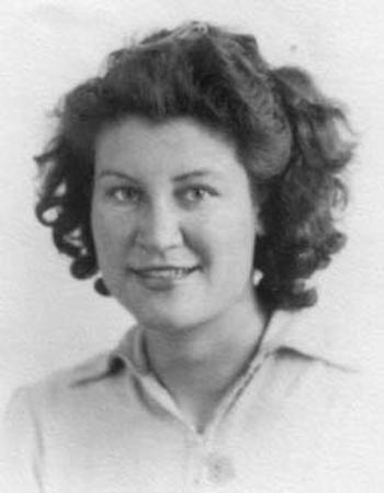 Phyllis Nicolson, courtesy Don Nicolson. Copyright holder unknown.