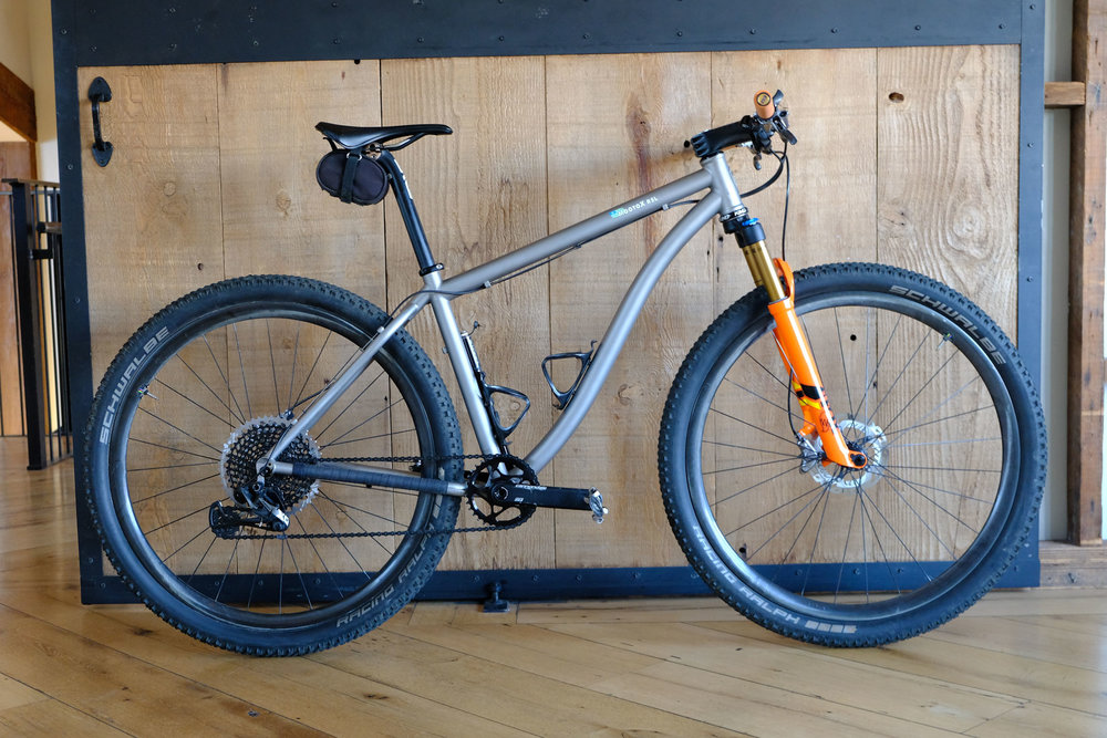 Moots MootoX RSL frame/fork $4899 as shown $6500
