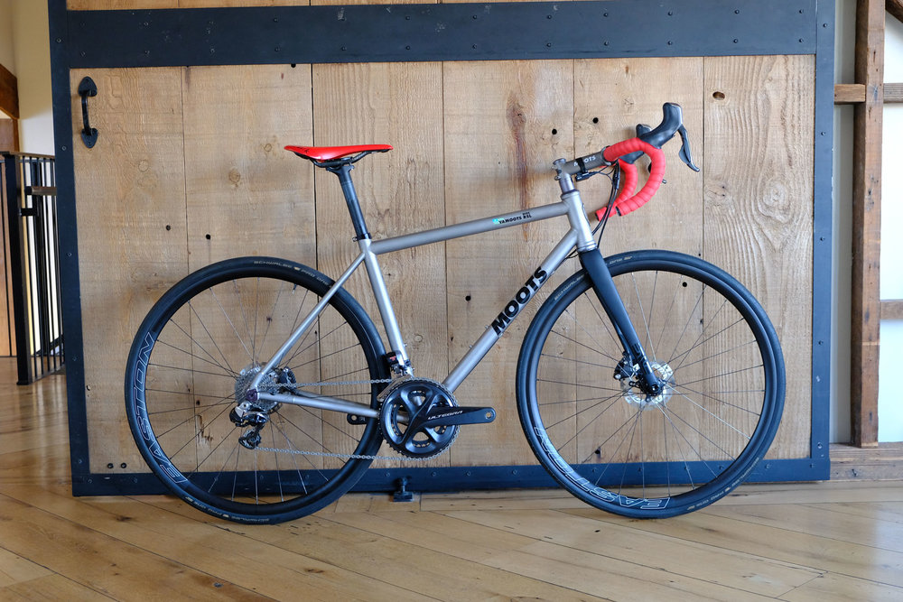 Moots Vamoots RSL Disc size 54cm frame/fork $5499 as shown $6,699