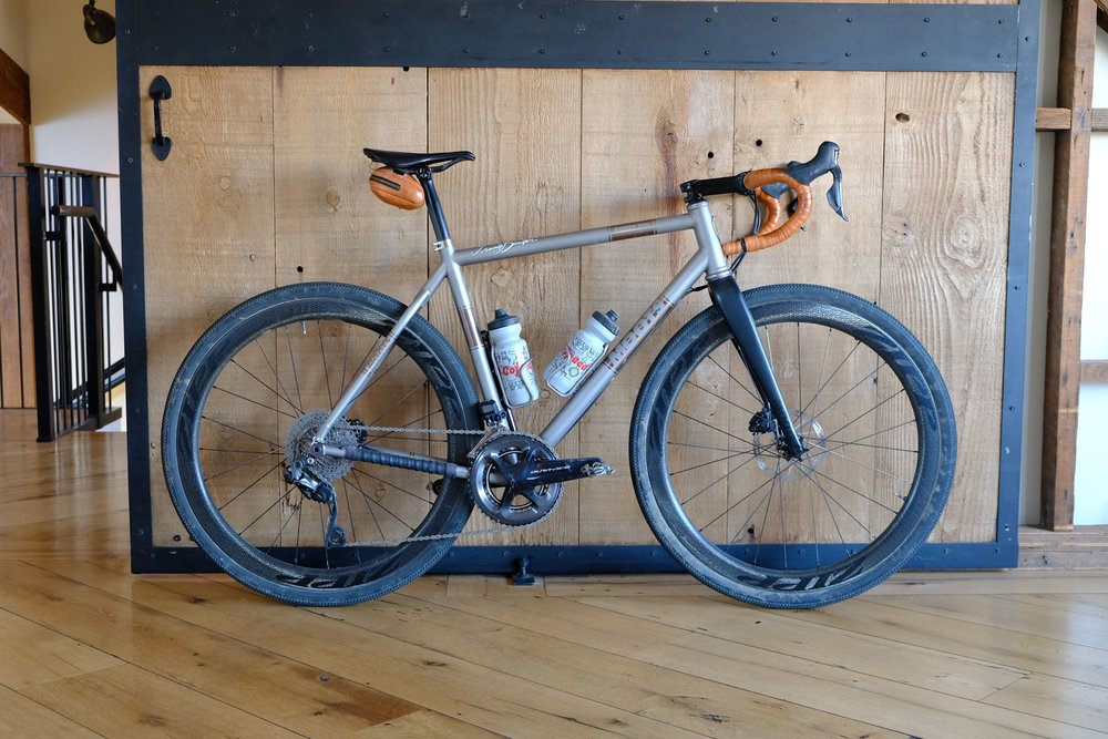 Moots Routt RSL frame/fork $5499 as shown $11,000