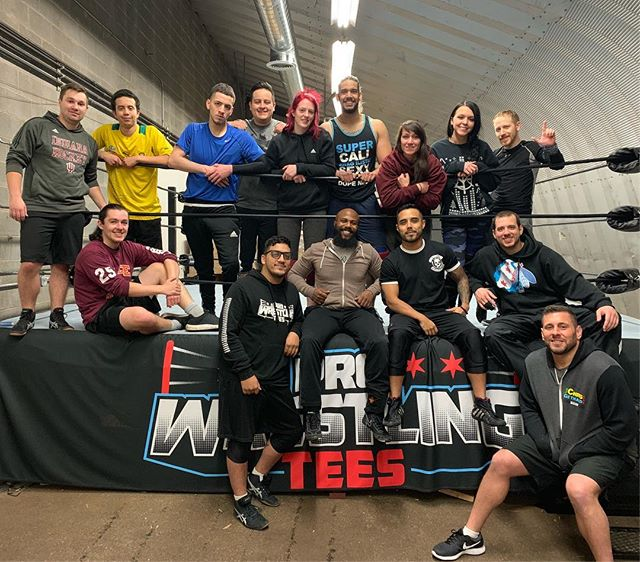 Great first official day of training at the Freelance Wrestling Academy! Thanks to Colt Cabana for stopping in and lending a hand! Admission is still open, contact FreelanceWrestling@gmail.com to join!